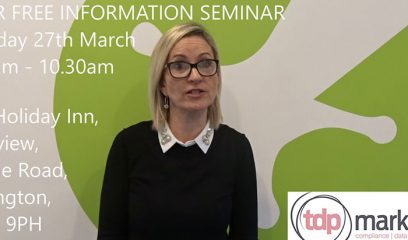 GDPR Presentation invitation video