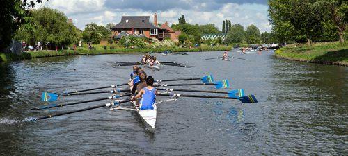 Cambridge rowers